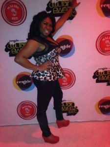 NettaintheValley night out with the Stars BET after party after Soul Train Music Awards